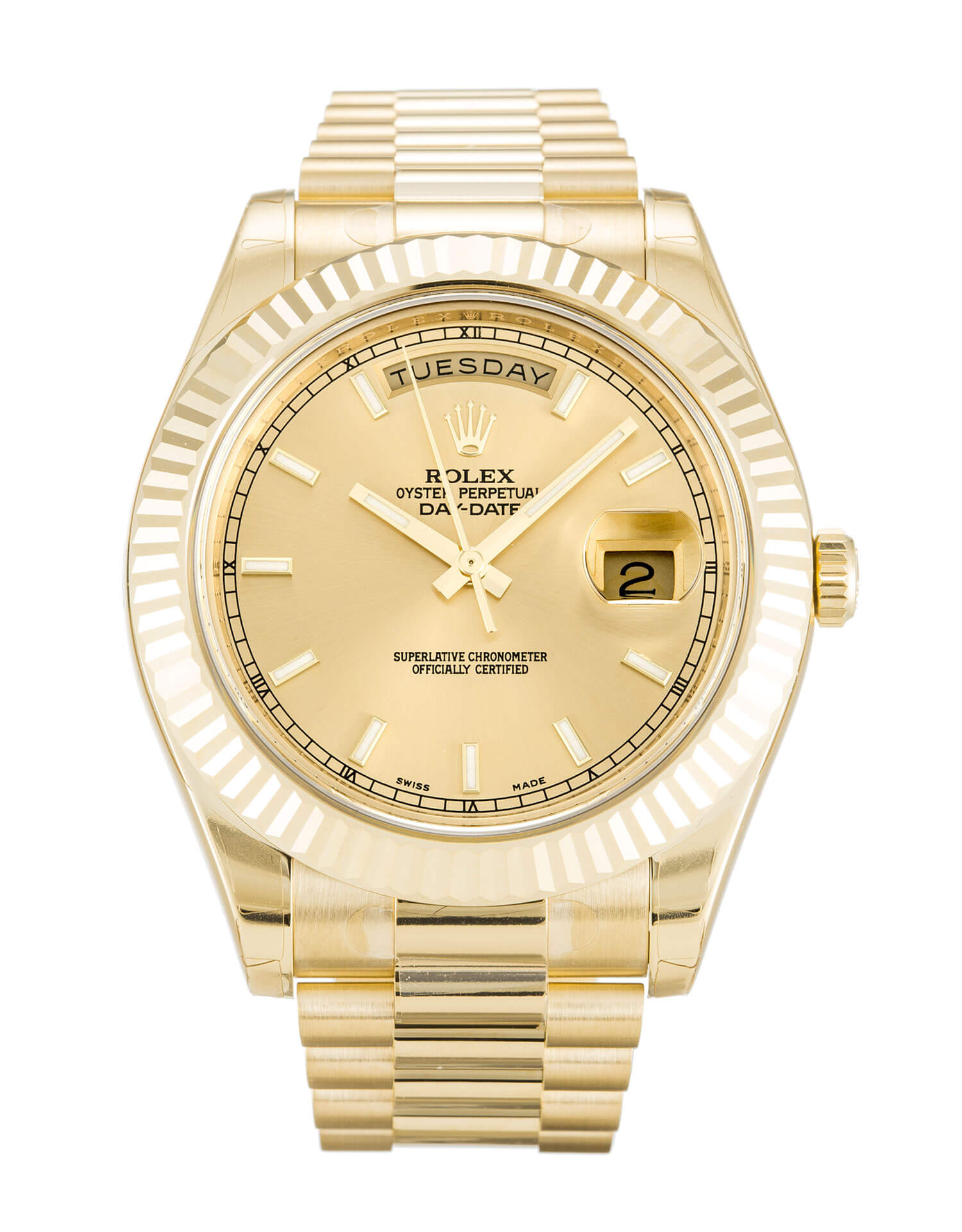 Rolex Replica Day-Date II 218238-41 MM