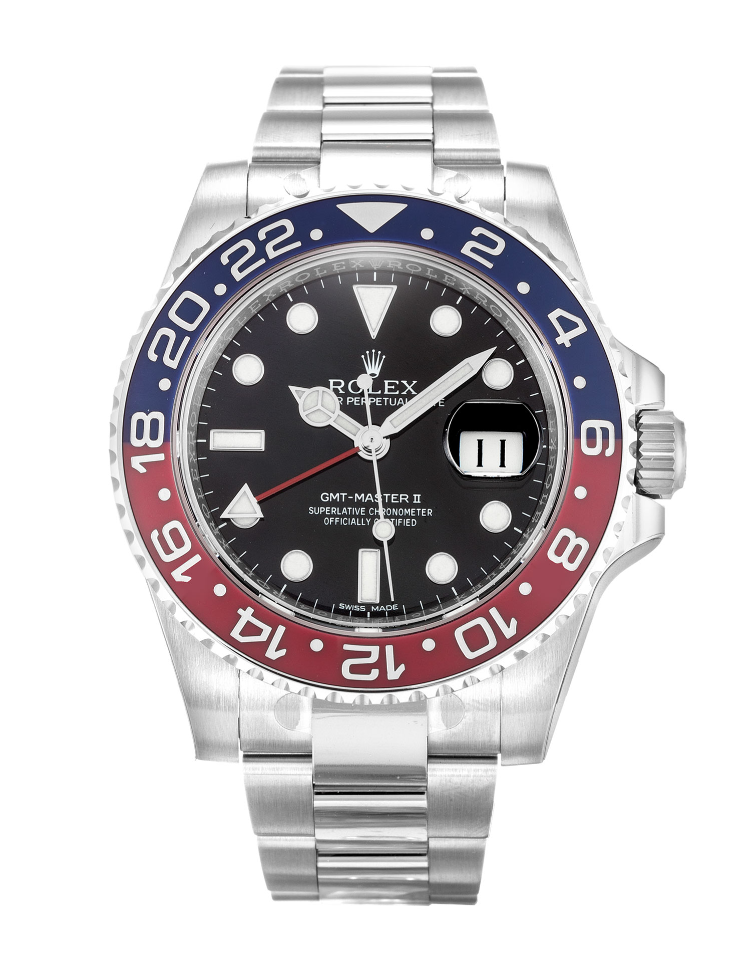 Rolex Replica GMT Master II 116719 BLRO-41 MM