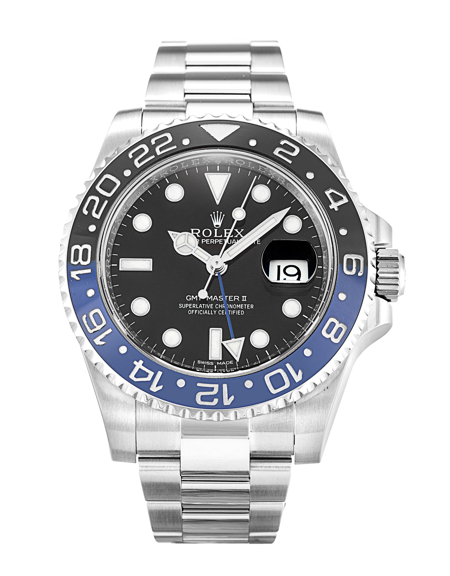 Rolex Replica GMT Master II 116710 BLNR-40 MM
